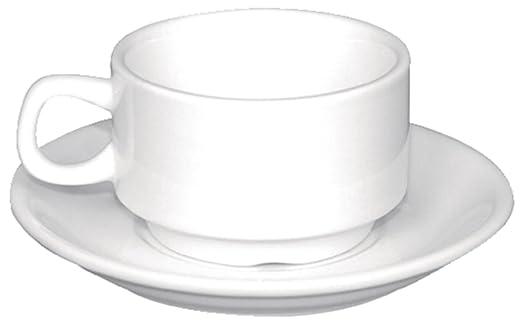 Olympia CB471, Apilamiento de Tazas de Café Expreso, Blanco, 85 ml ...