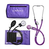 Aneroid Sphygmomanometer & Sprague Stethoscope Kit by LotFancy