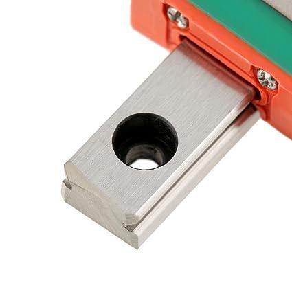 guida di scorrimento larghezza 7 mm Guida lineare LML7B, Guida di scorrimento lineare in miniatura LML7B da 40//55//70mm 40mm