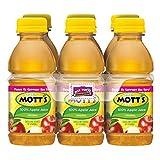 Mott's 100% Original Apple Juice, 8 fl oz bottles (Pack of 6)