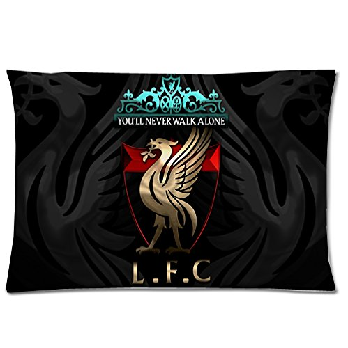 BSQJ - Liverpool FC? zipper pillowcase 20 x 30 zipper pillow case . (Liverpool Pillowcase)
