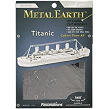 Metal Works Titanic 3D Laser Cut Model Marvel