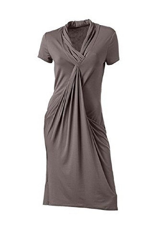 Jersey midi dress by Ashley Brooke