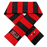 Forever Collectibles Chicago Bulls Official NBA Adult One Size Striped Rugby Scarf by 381728
