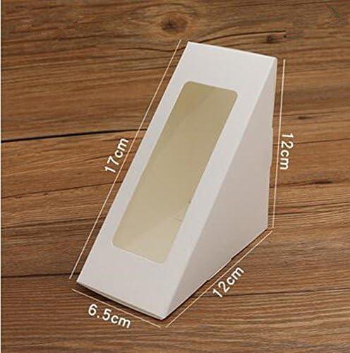 Sandwich embalaje caja Sandwich bandeja triángulo bolsa ...