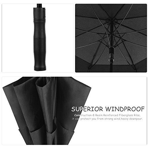 Oak Leaf 68 Inch Large Golf Umbrella Windproof Lightweight Sun Rain Umbrella by Oak Leaf (Image #3)