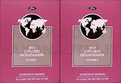 1997 Ford Explorer Repair Shop Manual Original Set