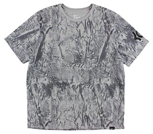 Nike Women Roshe Two Flyknit (grigio Scuro / Grigio Scuro-platino Puro) Luce Blu Medio / Fumo / Bianco