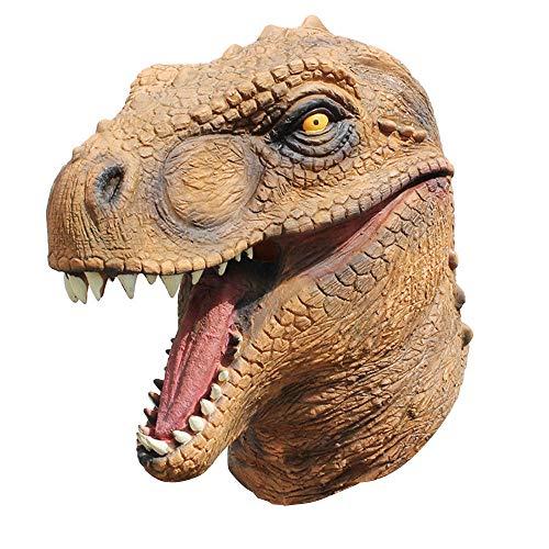 BOOMdan Head Mask Dinosaur Mask Novelty Halloween Christmas
