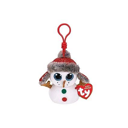 Amazon.com: Ty Beanie 35215 Botones Boos de Navidad Snowman ...