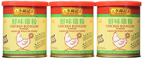 Plum Dish Casserole - Lee Kum Kee Chicken Bouillon Powder, 8-Ounce Cans (Pack of 6)