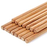 Bamboo Chopsticks - 100set Chinese Bamboo Chopsticks 25 Pair Set 50 Pieces 24cm 7mm Dining Bar Tableware Eco Friendly - Organic Dishwasher Carrying Sticks Japan Bulk Pack Kids Case Short Made