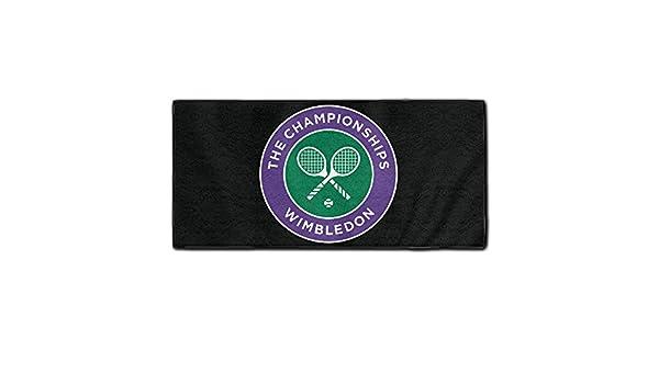 Baddy el Campeonato de Wimbledon Logo washcloths toallas de lavado de Super absorbente: Amazon.es: Hogar