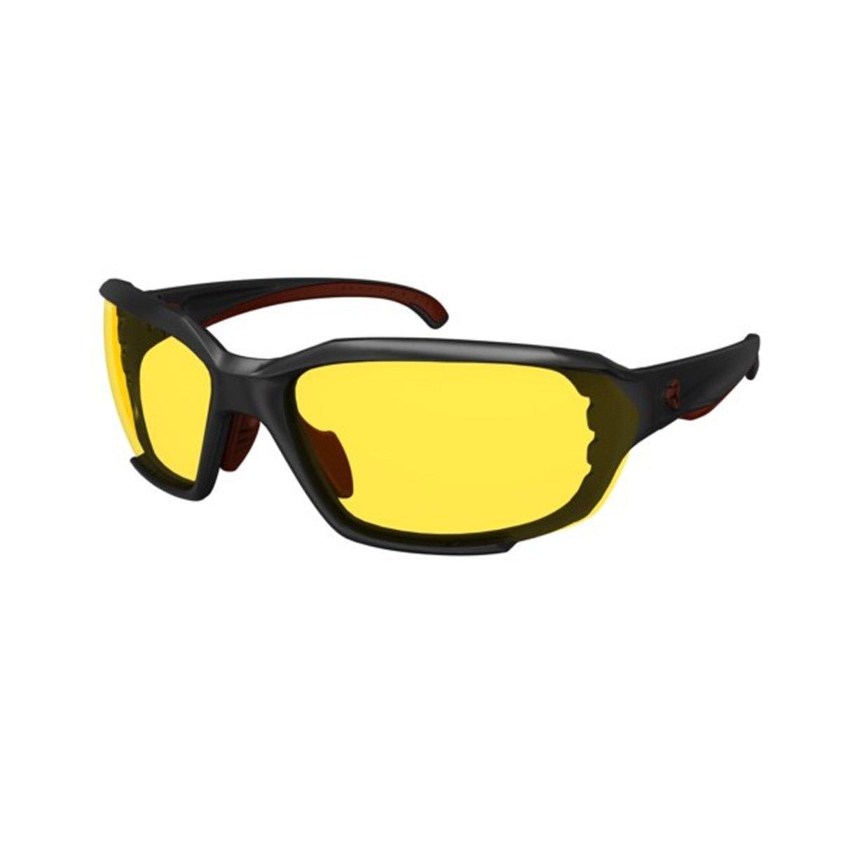 Ryders Eyewear Rockworkサングラス B06ZYBH8XB BLACK / YELLOW LENS 74%-25%|イエロー BLACK / YELLOW LENS 74%-25%