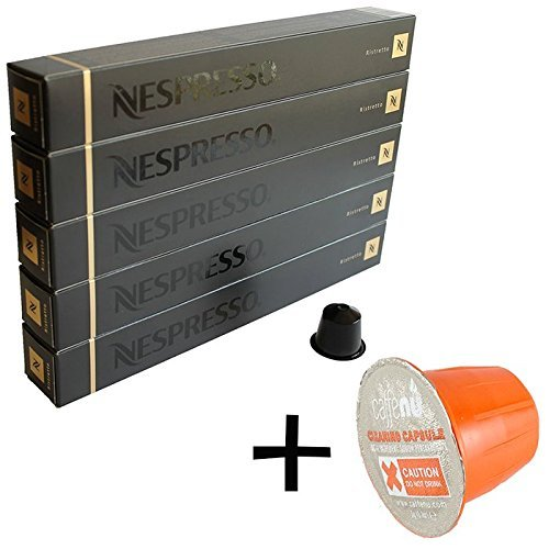 (유익 세트/세제 샘플1 개부착) NESPRESSO 네스프레소 캡슐 커피 리스트《렛토》 1개 10캡슐x5개 세트