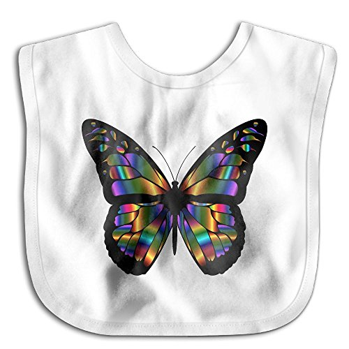 (Butterfly Infant Toddler Bibs Super Absorbent Cute Design Baby Bib Funny Baby Shower - Gift)