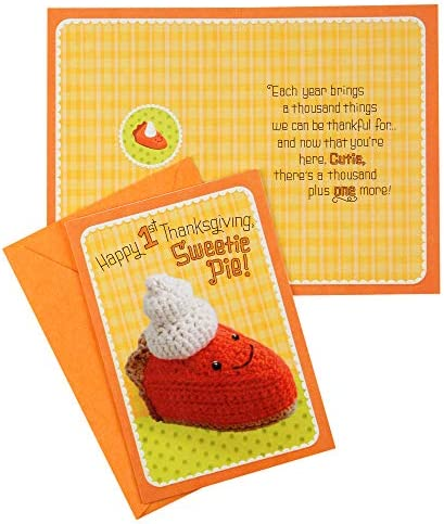 Halloween//Thanksgiving//Christmas//Valentines Day//Easter Hallmark Babys 1st for All Seasons Card Assortment 5 Cards with Envelopes