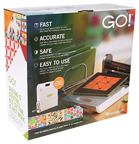 AccuQuilt GO Fabric Cutter (Electric Cutting Machine Fabric compare prices)