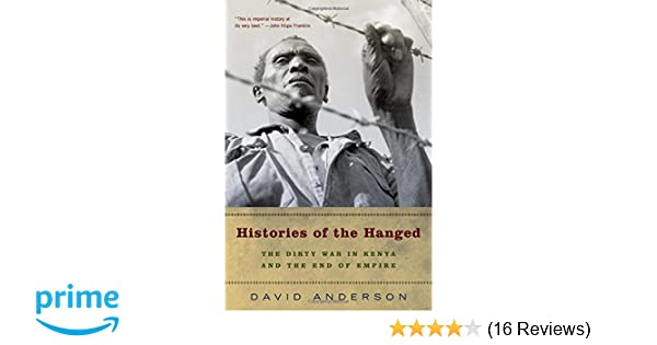 histories of the hanged anderson david