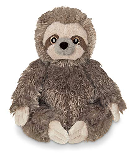 (Bearington Lil' Speedy Small Plush Stuffed Animal Three Toed Sloth, 6.5 inches)