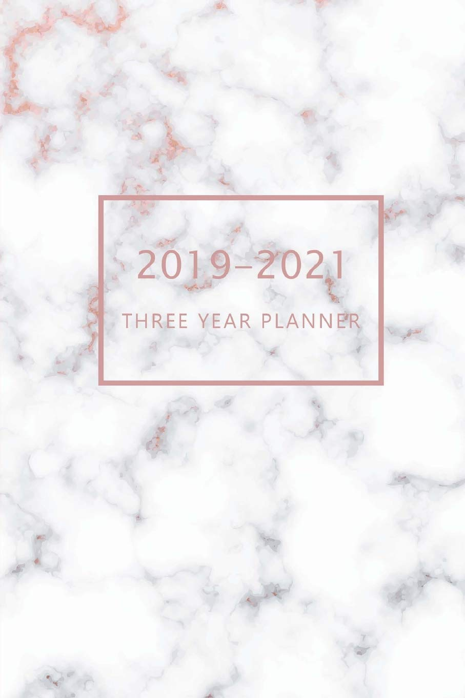 2019-2021 Three Year Planner: 3 Year Planner 2019-202, 36 ...