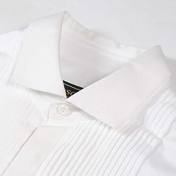 DSQUARED2 Camisa Plisada Blanca White Meduim: Amazon.es: Ropa