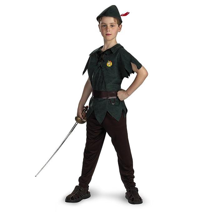 Peter Pan Disney Infantil/niño Disfraz: Amazon.es: Juguetes y juegos