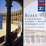 Bizet : L'Arlésienne (suites) / Carmen (suites) / Symphony en Ut / La Jolie fille de Perth (Coffret 2 CD)