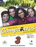 Companeros 3 Cwiczenia + licencia digital - nueva edicion