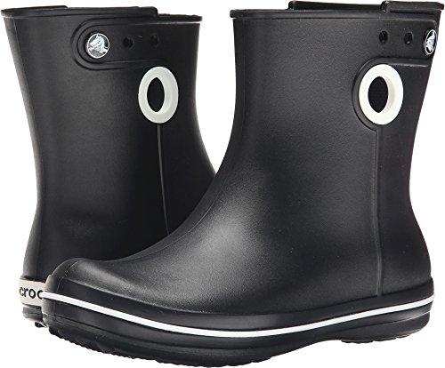 crocs Women's Jaunt Shorty Boot,  Black, 8 W US (Calf Boots Rain)