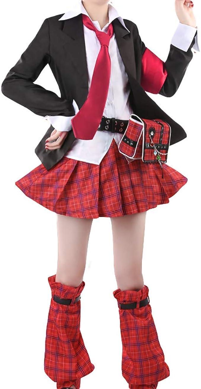Amazon Com Myyh Anime Hinamori Amu Cosplay Costume Fancy School Uniform Halloween Clothing
