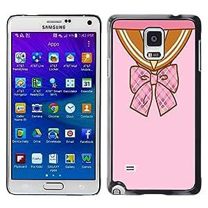Dragon Case - FOR Samsung Galaxy Note 4 - time after time - Caja protectora de pl??stico duro de la cubierta Dise?¡Ào Slim Fit