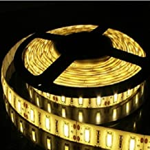 JOYLAND 12V DC SMD 5630 Flexible Warm White 3000-3500K Waterproof 5m IP65 Led Strip Tape Light 300 Units 5630 LEDs