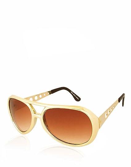 Retro-Lunettes de soleil-Argent-Elvis-reflets des lentilles 1i50BqoRE
