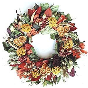 VanCortlandt Farms Handmade Bountiful Harvest Wreath 85