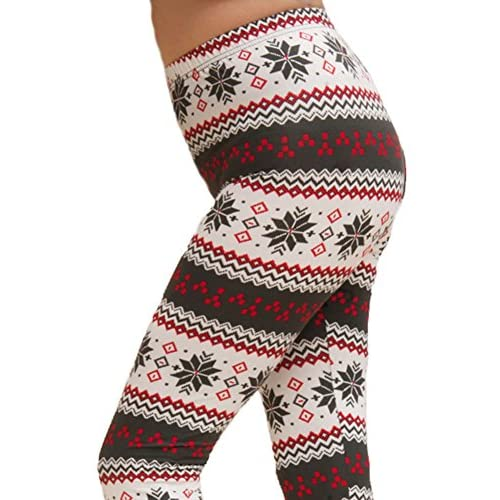 well-wreapped ED Seasonal Holiday One Size Print Leggings for ...