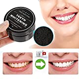 Cleansing And Drinking Coffee - Hot Sale! AMA(TM) Teeth Whitening Charcoal Powder Natural Organic Activated Charcoal Bamboo Toothpaste Powder (Black)