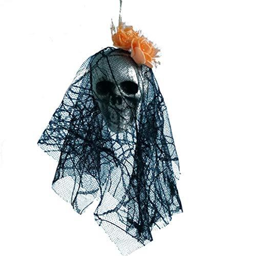 Dreamyth Halloween Hanging Decor Pirates Corpse Skull Haunted House Bar Home Garden Decor (G) ()