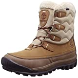 Timberland Women's Woodhaven Mid WP Insulated Winter Boot, Brown, 8.5 M US