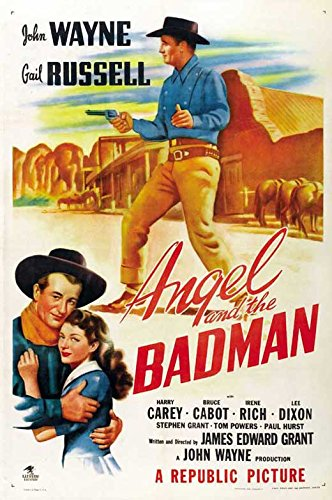 Movie Posters Angel & The Badman - 27 x - Poster Angel Movie