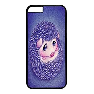 Black PC Back Protection Case Cover For iPhone 6 With Big Eyes Hedgehog Xiang's Case
