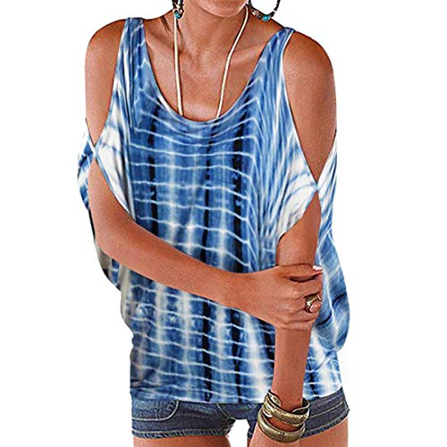 04fa9f6982bb39 UONQD Sommerkleid Spitze Kleid Damen Cocktailkleid Festlich Partykleid A  Linie Ärmellos Knielang(Small,Blue