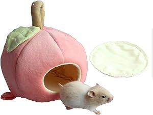 Yu-Xiang Hamster Apple House Guinea Pig Hammock Pet Sleeping Bag Apple Bird's Nest Rat and Hedgehog