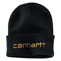 Engineered to keep your head warm in the worst weather conditions, this rugged rib-knit hat is embroidered to make a distinctively Carhartt statement.