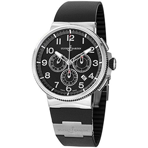 Ulysse-Nardin-Marine-Chronograph-Black-Dial-Black-Rubber-Mens-Watch-1503-150-3-62