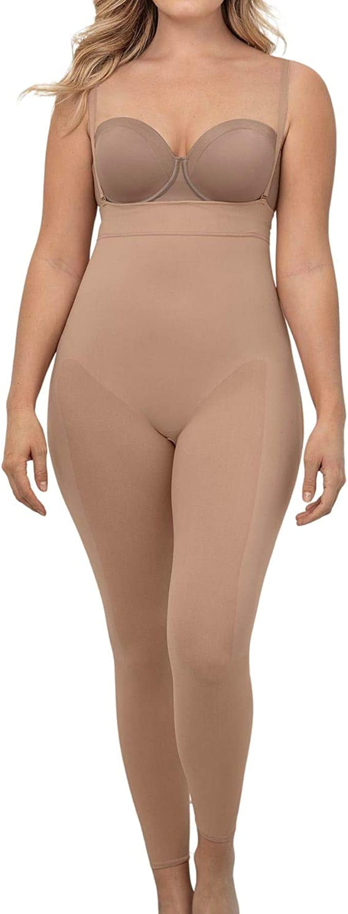 Details about  /Coloriented Women Body Shapers Elastic Silicone Rubber Waist Lateral Bone Mesh