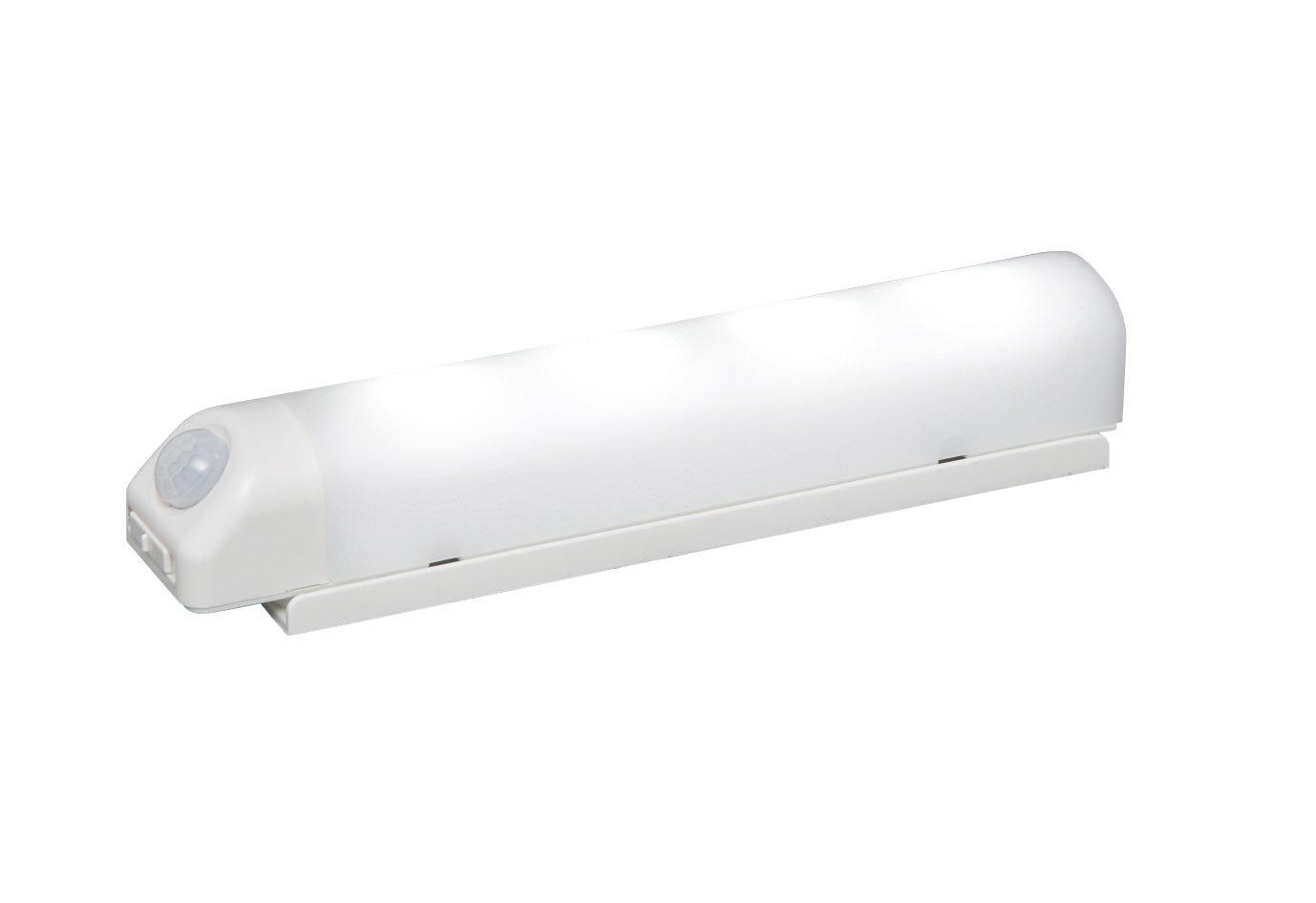 アイリスオーヤマ 屋内 LED センサーライト 昼白色 乾電池式 ウォールタイプ