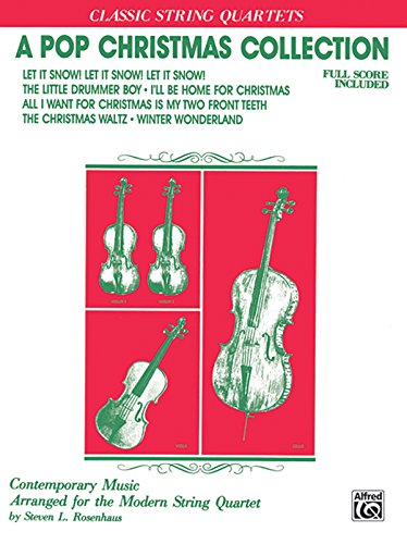 A Pop Christmas Collection: Full Score & Parts (Classic String Quartets) - String Quartet Parts