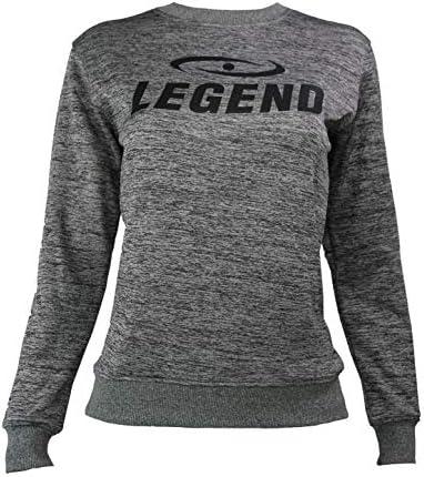 Legend Sports Logo Maglione Grigio Taglia XXS