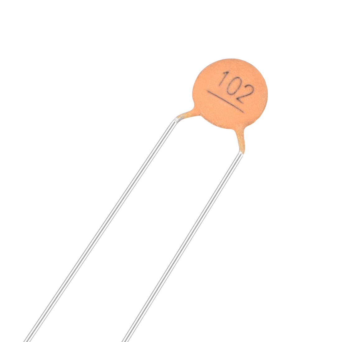 uxcell Ceramic Capacitor Kit 50V 1000PF Disc Capacitors for DIY Electronic Circuit Pack of 10
